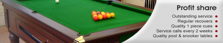 profit share pool tables